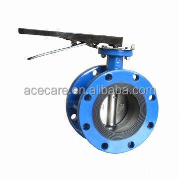 Chinese supplier anti-condensation 30 inch butterfly valve with light torgue calcualtion