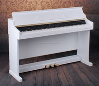 Entry Level Glossy White Digital Upright Piano
