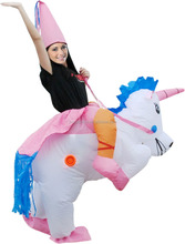 Adult Inflatable Unicorn Costume Halloween Party Pet Costumes