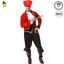 2017 Adult Halloween Carnival Party Pirate Man Costumes Fancy Dress Costume Men