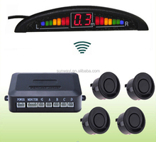 BIBI warning wireless Led car reversing parking sensor system