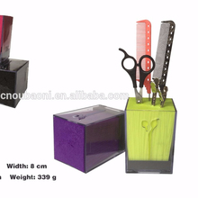 New arrivel Salon X-612 transparent scissor holder product for professional manufacturer