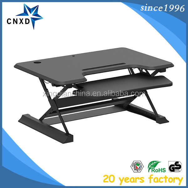 Flash Furniture Height Adjustable Mobile Laptop Computer Desk