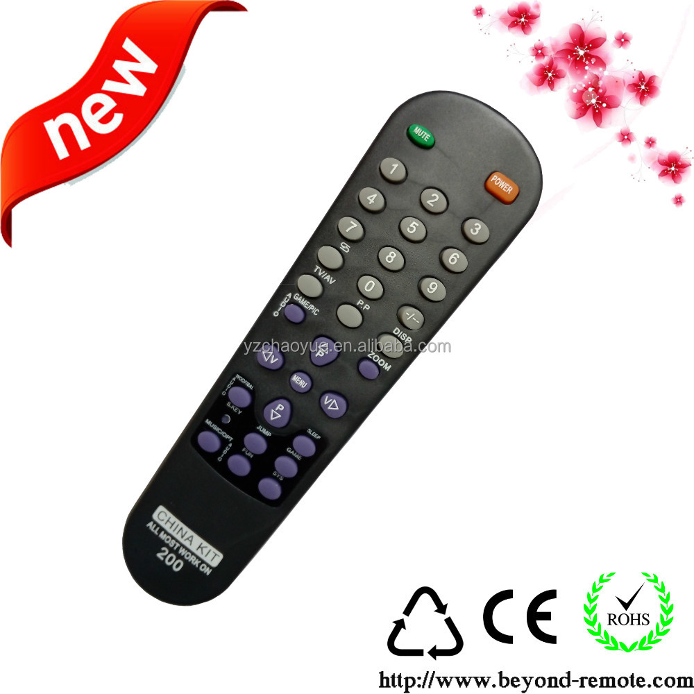 wireless ir tv remote control with high quality