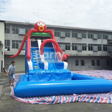 Giant commercial inflatable water slide for water park