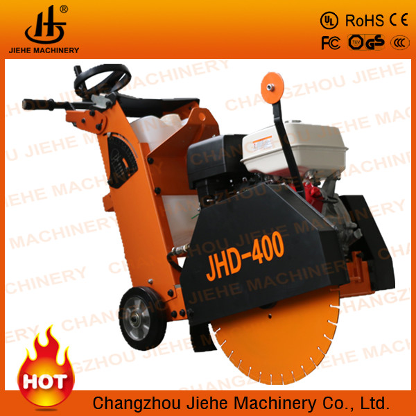 "Factory direct sale 16"" concrete road cutter,cutting depth 125-150mm,road construction(JHD-400)"