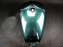 Jade Blue GN125 GN250 XV250 Gas Petrol Motorcycle Fuel Tank