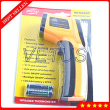 GM320 Non Contact Digital Laser Infrared Thermometer with -50 ~ 380 Degree Auto Temperature Meter Sensor