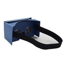 Young people Fashion Google cardboard VR 3d glasses, 3D video glasses Funny 3d games playing