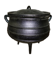 Three Legged Cast Iron Pot/ South Africa Potjie