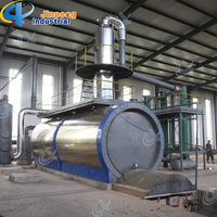 Waste Tyre and Plastic Pyrolysis Oil to Diesel Distillation Plant