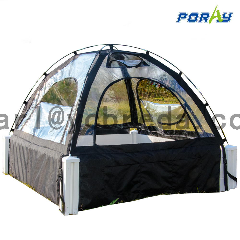 New raise garden bed cover vegetables greenhouse shed Cold And Frost Protection Fabric Cave shed