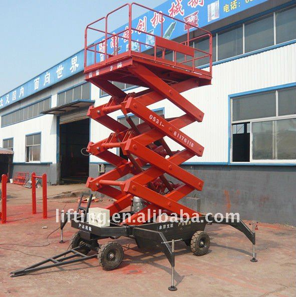 hydraulic air scissor jack lift