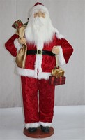 CFA05001A 60 inch collapsible santa with dancing and moving for christmas decoration