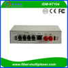 4FXO FXS Over Fiber Telephone Pstn