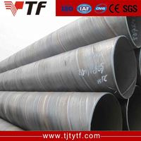 China products Cheap price spiral welded pipe