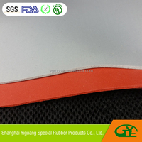 Hybrid electric vehicle battery separator use silicone foam sheet