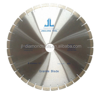 450mm custome-made diamond saw blade for granite