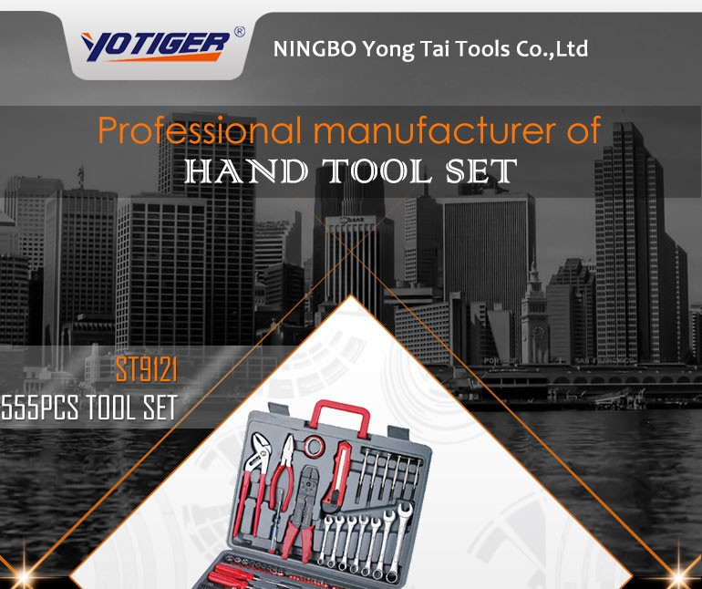 555Pcs Hand Tools China Manufacturer, Combination Tool Kit