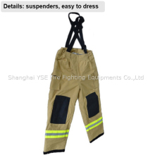 Fire fighting protective firefighter fireman trousers