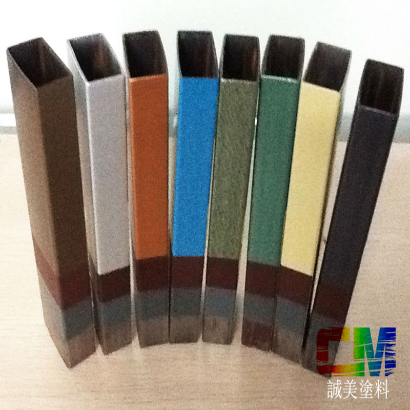 Anti corrosive rust metal steel structure fluorocarbon paint