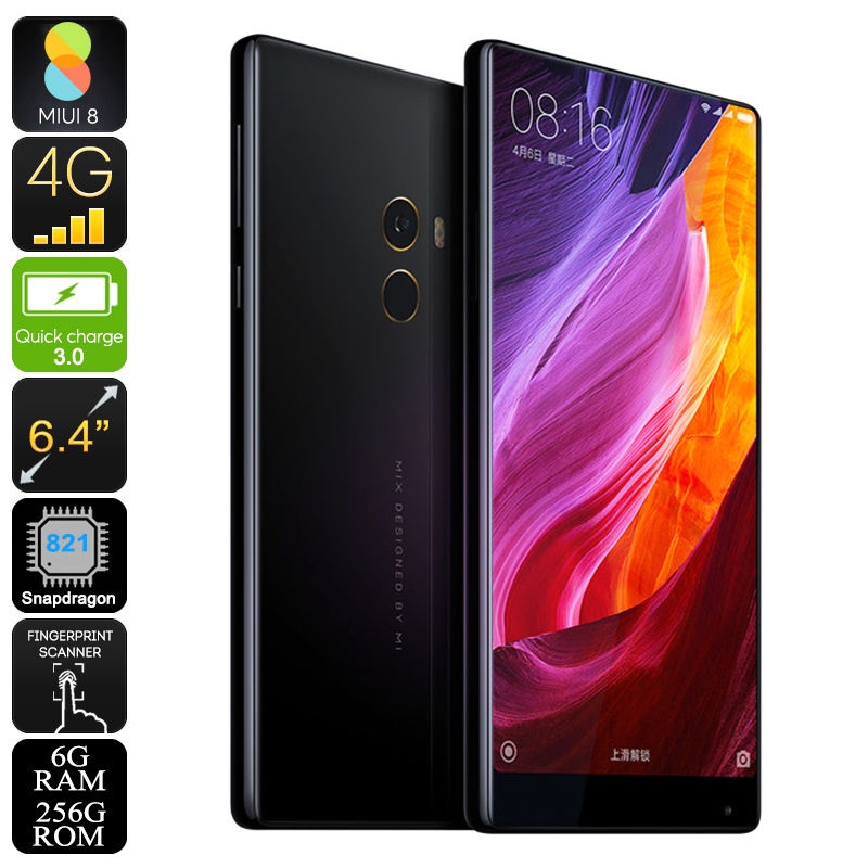 New Consumer Electronic Products Original Xiaomi 6GB RAM 128GB ROM 16MP Mi Mix Smartphone Mobile Phone