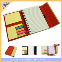 Promotional ECO Friendly Magnet Recycled Notebook With Pen And Notepad
