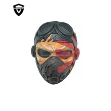Tactical Airsoft Mask Overhead Halloween Skull Mask Outdoor Hunting Cs War Game Mask