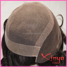 Wholesale 100% Human Hair men's toupe