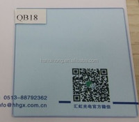 color filter optical glass qb18