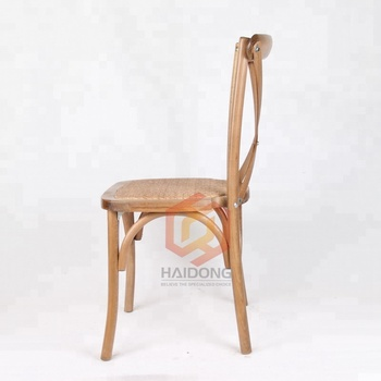 Wooden Cross Back Party Kids Chair