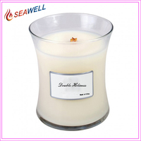 WoodWick At The Beach Jar Candle, 22-Ounce