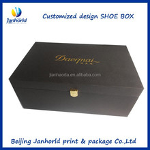 Customized high quality ECO friendly popular cardboard shoe box wholesale