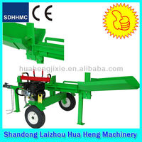 2014 new style automatic gasoline horizontal wood log splitter with CE EPA engine
