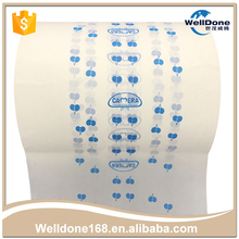 Factory Price white soft pe film recycling for diapers