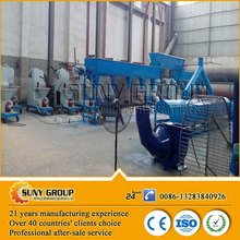 low price 3t par day charcoal machine/wood briquette extruder increase the feeding rate