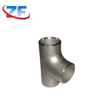 fabricated 45 degree pipe fitting lateral reduce barred tee size