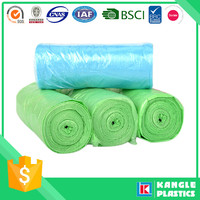 pe material all color custom printed plastic garbage bags