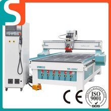 Multifunction Woodworking Machine,Linear ATC Center For Cutting Milling