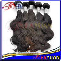 wavy human hair extension for black women malaysian body wave hair