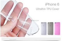5.5 Inch Transparent TPU Mobile Phone Cover For mobile phone Case
