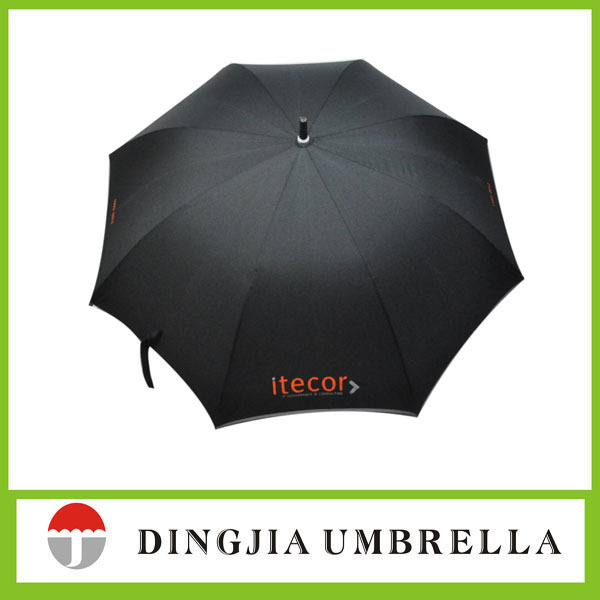 car promotional products black golf umbrella for sale