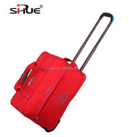 2016 Latest High quality Waterproof Nylon Rolling Wheel duffle bag women travel bag(SP101173-19)