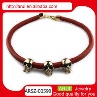 Greek coffee color leather infinity bracelet