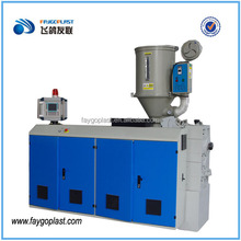 make pe material of using single screw compounding extruder