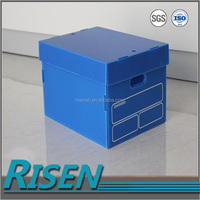 2-10mm Fluted Corrugated Plastic Sheet box/corrugated outer carton box