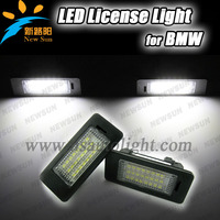 Canbus High power 24 SMD for BMW E39 E46 LED License Plate Lamp E60 E82 E84 LED License Light E90 E91 E92 E93 led license plate