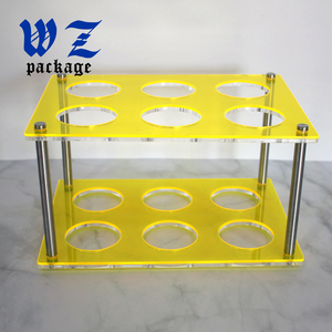 Acrylic Display Rack Cosmetics Small Bottles Holder Shelf