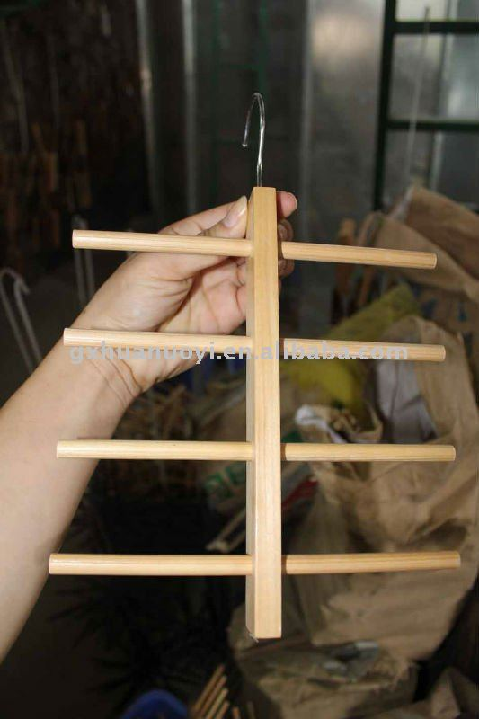 Wooden Tie/scarf/belt rack (Hot selling item)/sales promotion
