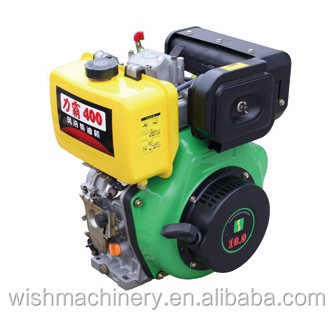 WISH 4-stroke 5HP diesel engine